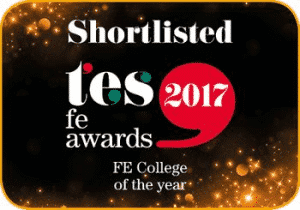 Glasgow Kelvin Delighted To Be Shortlisted as FE College of the Year