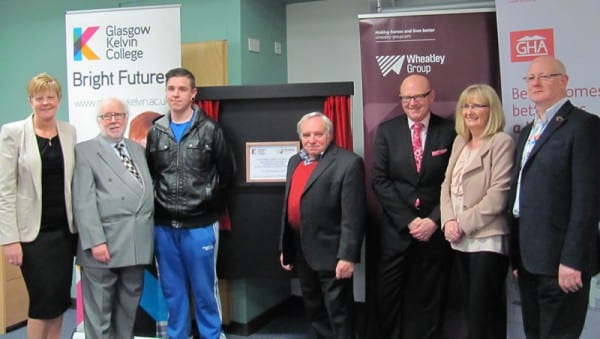 Official opening of the Wheatley Digital Innovation Lab established in Glasgow Kelvin College's Easterhouse Campus.