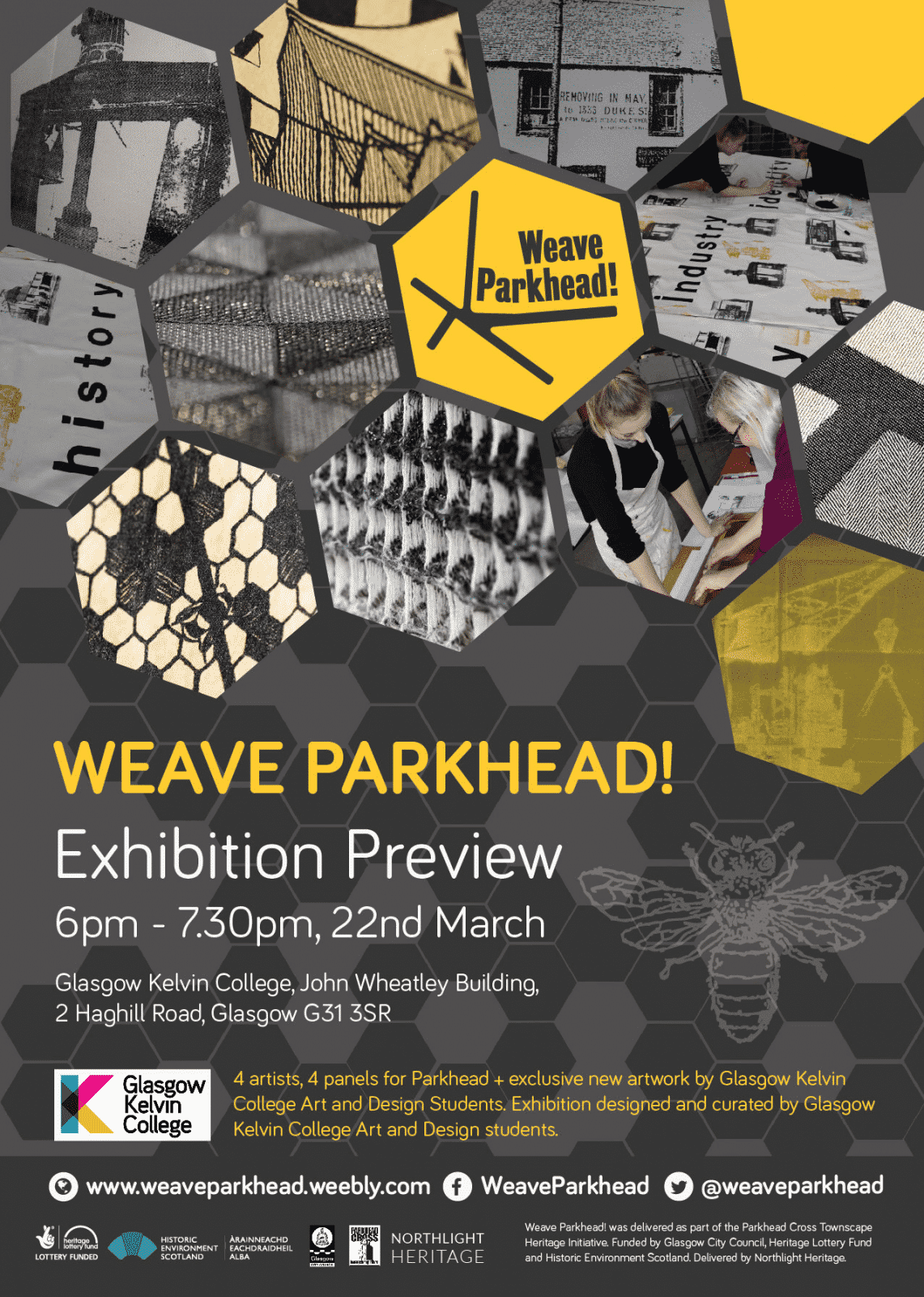 Weave Parkhead poster