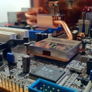 PC circuitry and chip