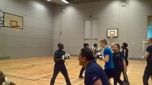 ESOL and Lv 6 Fitness Students sparing