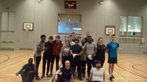 ESOL and Lv 6 Fitness Students