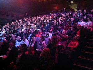 audience at prize ceremony