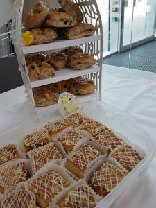 Cakes and hot cross buns