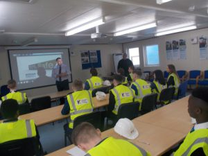 Foundation Apprentices at their Year 1 Site Visit