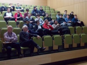 Civil Engineering students at Lecture