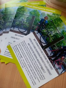 Leaflets for cycling initiatives