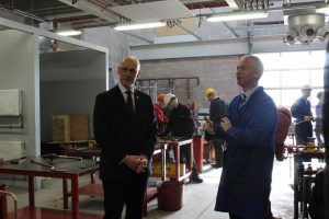Innovation Centre Launch John Swinney with staff