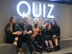 Quiz Clothing Competition - Group shot
