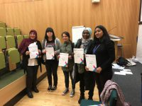 ESOL Students with their certificates