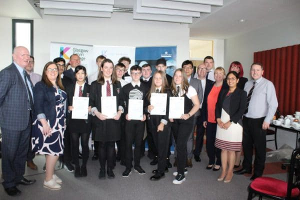 Local Young People Celebrate 'Gateway' to a Career in Engineering