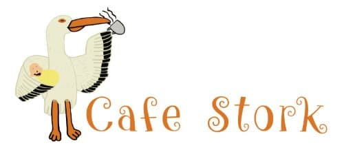 Logo for Stork Cafe designed by Seonaid Walker