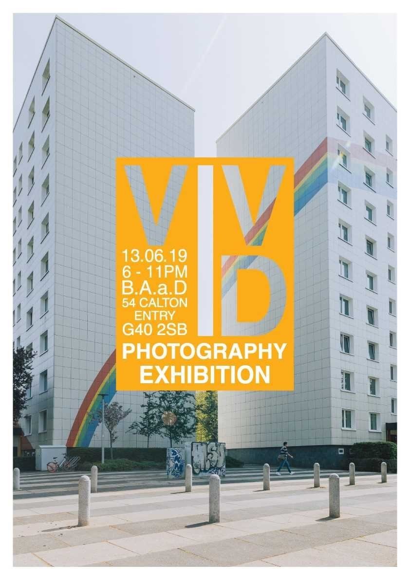 Poster for HND Photography Exhibition