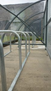 Cycle Racks at Easterhouse Campus