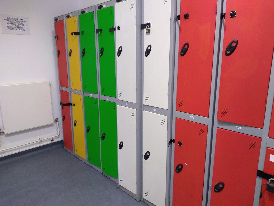 Lockers in EE Campus
