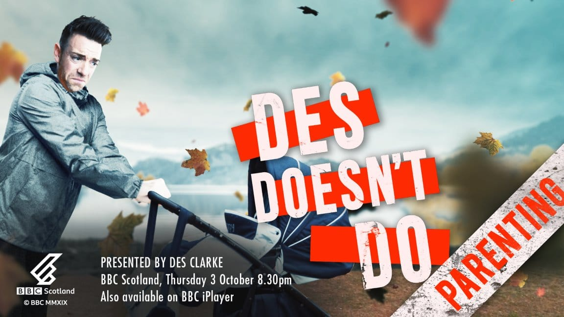 Des Doesn't Do Poster