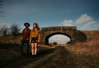 Promotional shot of Nicol and Elliot