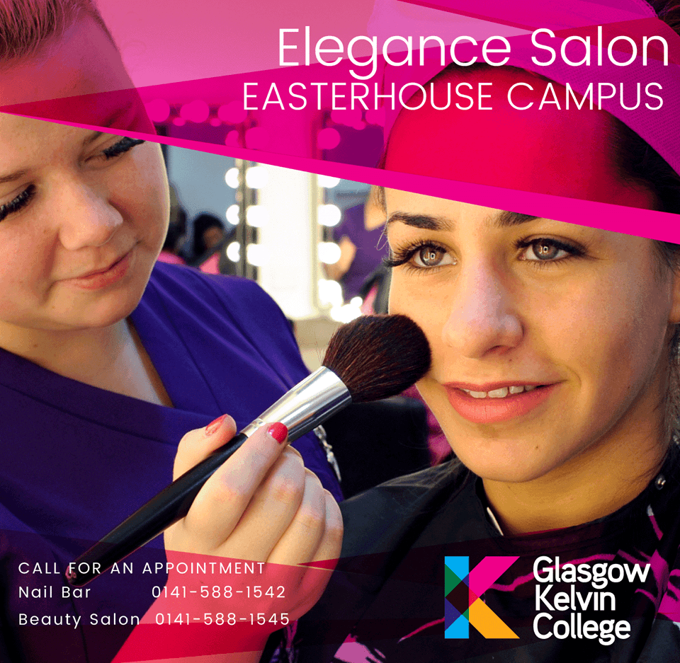 Advert for Elegance Salon Easterhouse