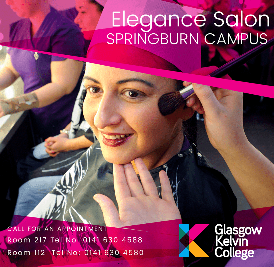 Advert for Elegance Salon Sprinburn