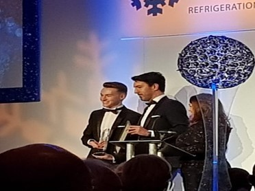 Declan Wallace – won the Institute of Refrigeration Scotland Apprentice of the Year Award