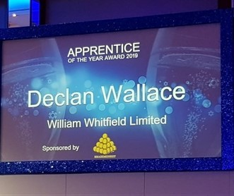 Screen with Declan Wallace's name