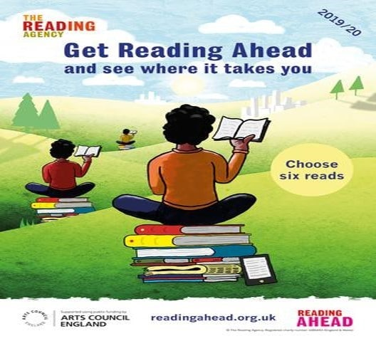 The Reading Ahead Challenge poster