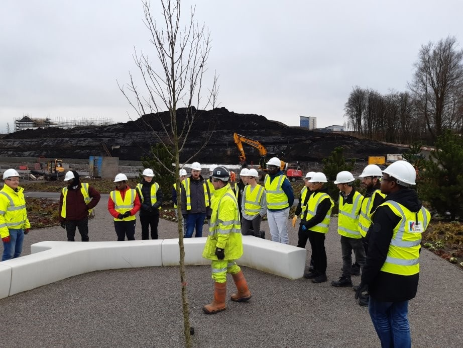 students at the Sighthill Regeneration Project