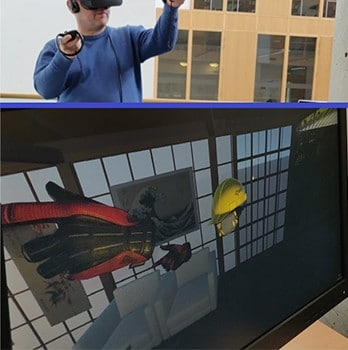 Using virtual reality to do CAD