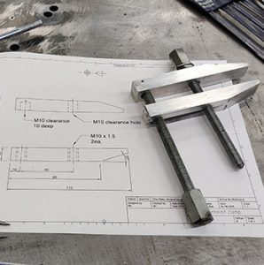 mechanical drawing and tool