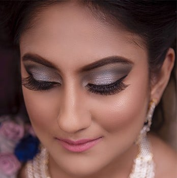 Make up on Indian Bride