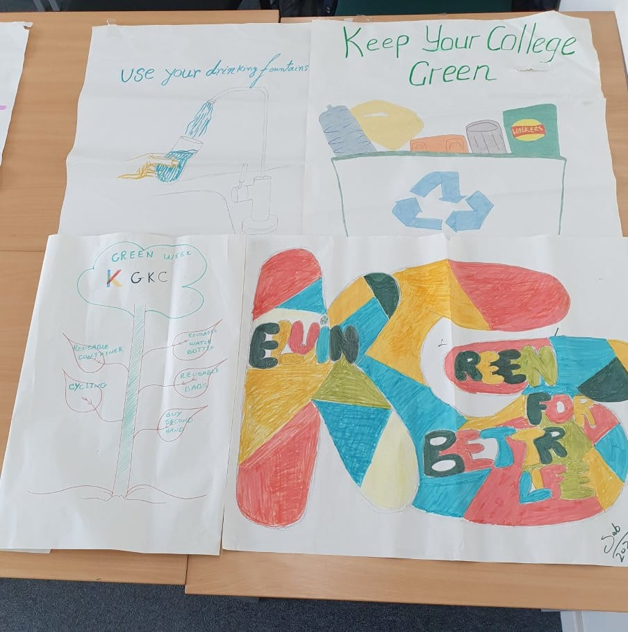 ESOL Go Green Week Posters