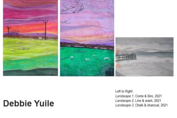 Online Art Exhibition - selection of pictures