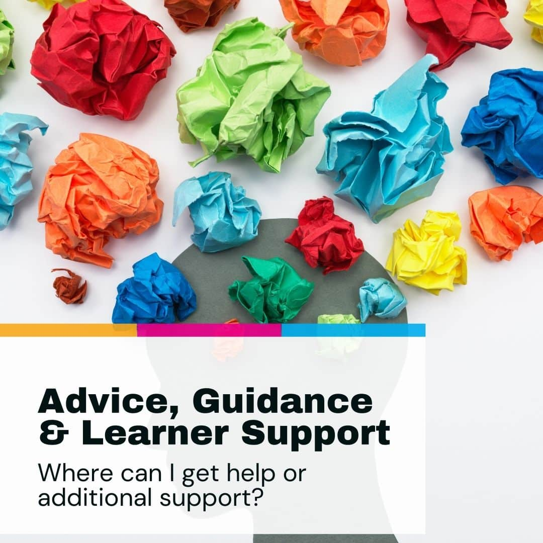 What to Expect - Advice and Guidance