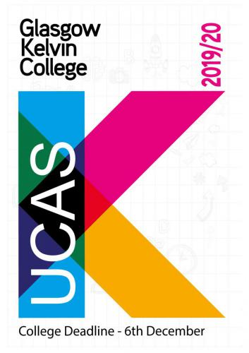 front Page of UCAS booklet