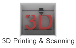 Logo for 3D scanning and printing