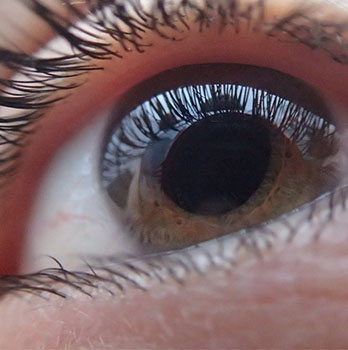 Close up of eye