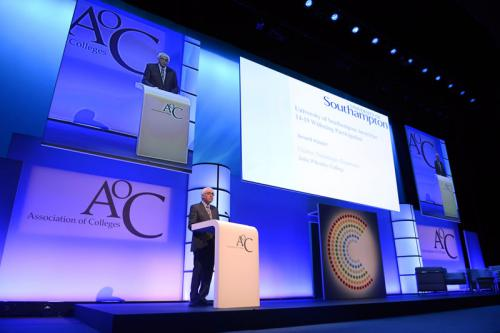 Speaker at AoCBeacon award