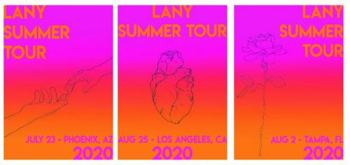 Poster design for tours