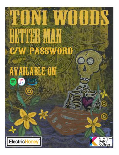 Toni Woods Better Man Poster