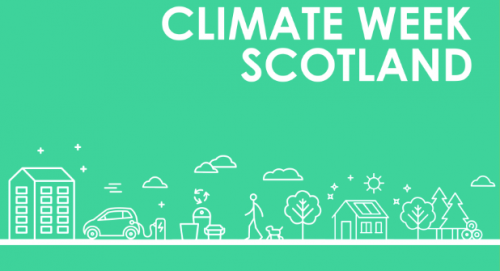Climate Week Scotland 2019 graphic