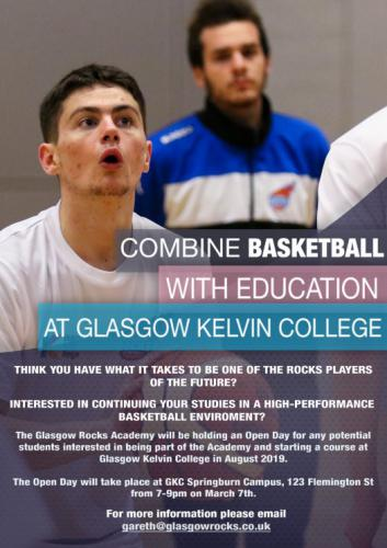 Poster - Combine Basketball With Education