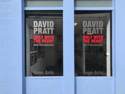 doors of David Pratt exhibition