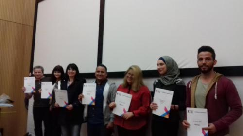 ESOL All Write students with certificates