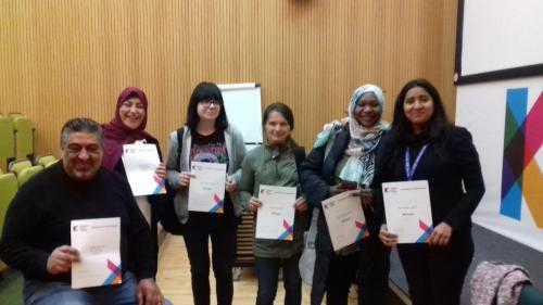 Group shot of ESOL Students