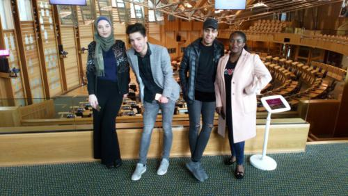 ESOL students on their Parliament Trip