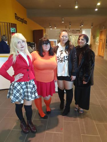 some of our fashion students