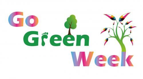 Go Green Week banner