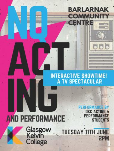 NQ Acting & Performance Presents Poster