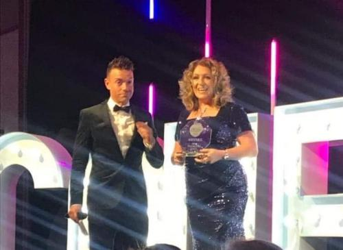 Sandra Thomson and Des Clarke
