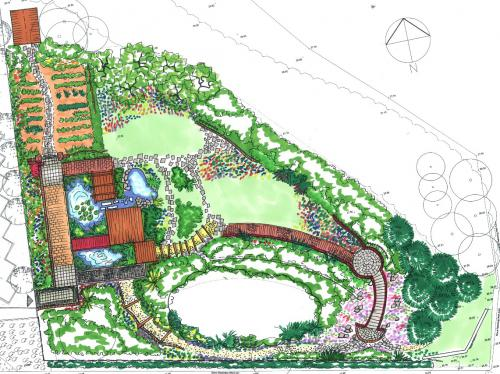Proposed Garden at East End Campus